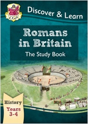 KS2 History Study Book - Romans in Britain (Ages 7-9)