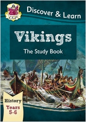 KS2 History Study Book - Vikings (Ages 9-11)