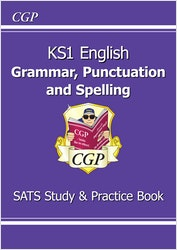 KS1 Spelling, Punctuation & Grammar Study & Question Book