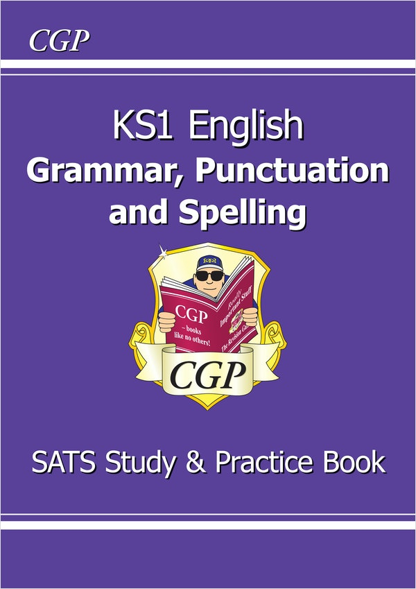 KS1 Spelling, Punctuation & Grammar Study & Question Book