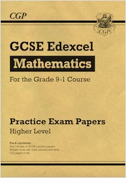 GCSE Maths Edexcel Practice Papers (Higher Level)