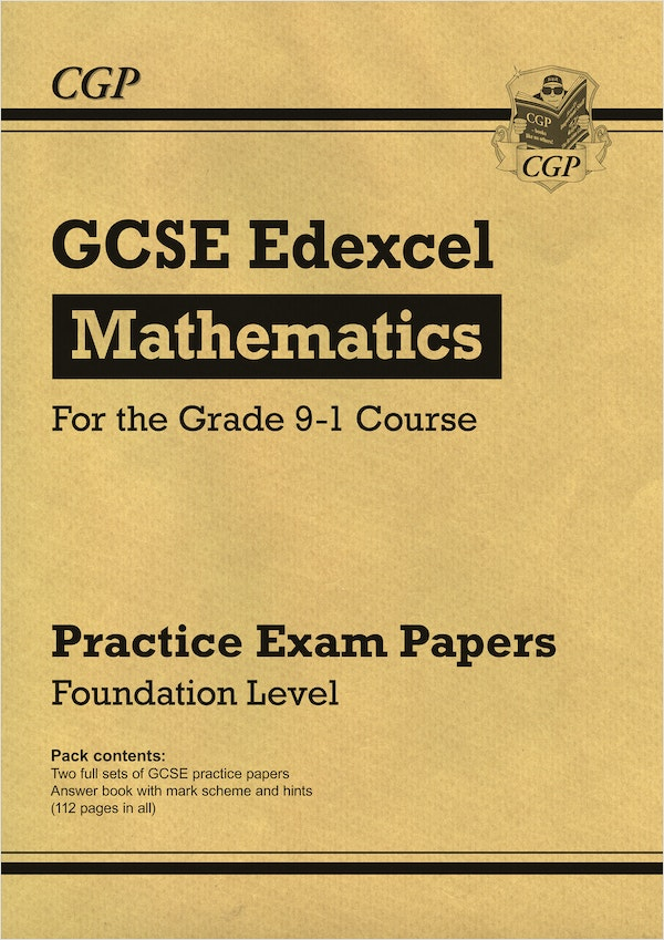 GCSE Maths Edexcel Practice Papers (Foundation Level)