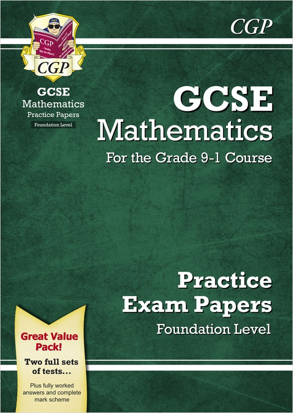 GCSE Maths Practice Papers (Foundation)
