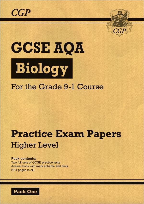 GCSE Biology AQA Practice Papers (Higher) Pack 1
