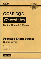 GCSE Chemistry AQA Practice Papers (Higher) Pack 1