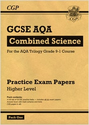 GCSE Combined Science AQA Practice Papers (Higher) Pack 1