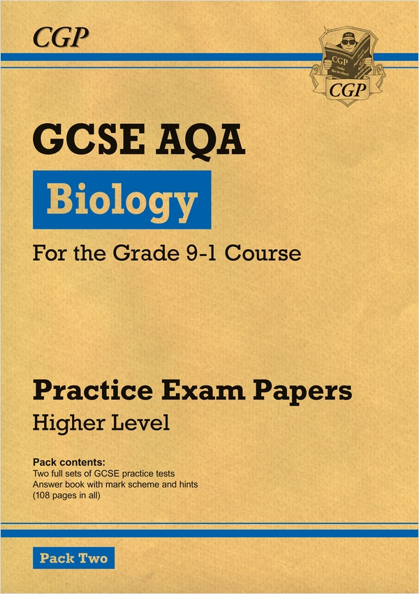 GCSE Biology AQA Practice Papers (Higher) Pack 2
