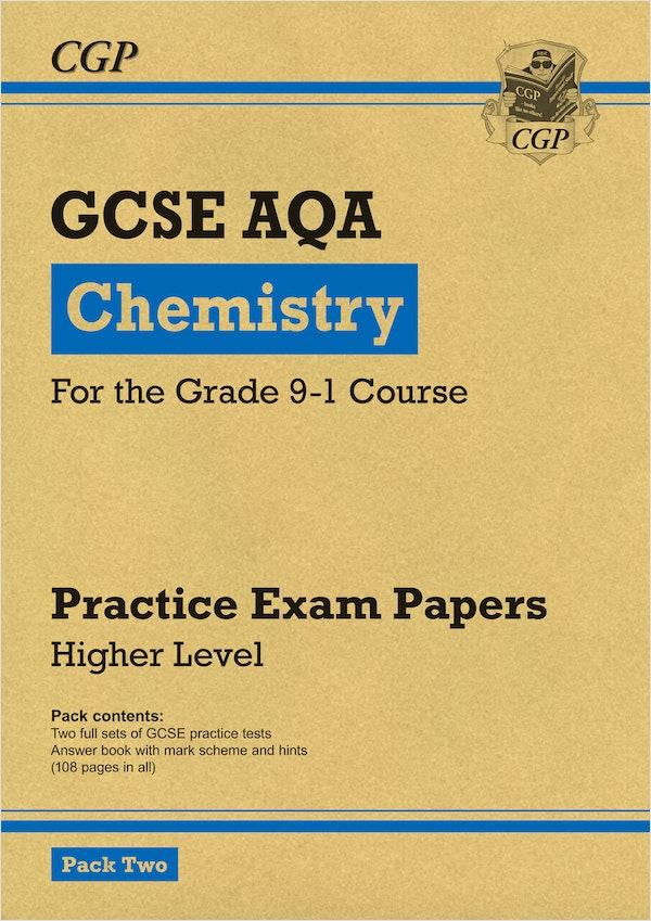 GCSE Chemistry AQA Practice Papers (Higher) Pack 2