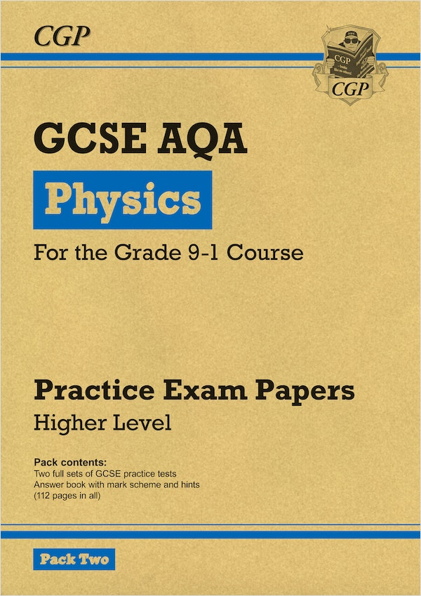 GCSE Physics AQA Practice Papers (Higher) Pack 2