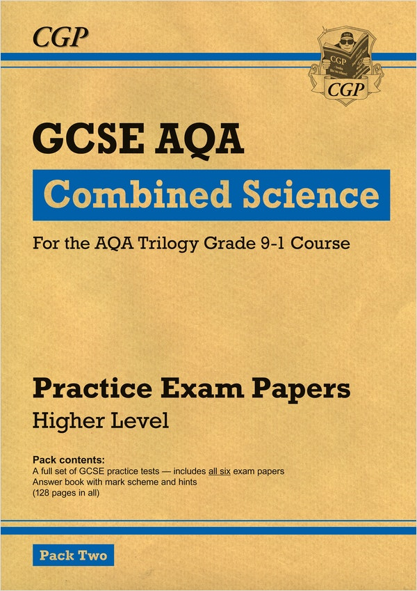 GCSE Combined Science AQA Practice Papers (Higher) Pack 2