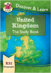 KS2 Geography United Kingdom Study Book