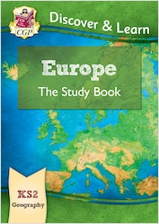 KS2 Geography Europe Study Book