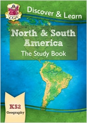 KS2 Geography North & South America Study Book