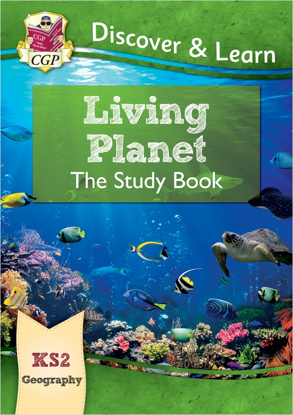 KS2 Geography Living Planet Study Book