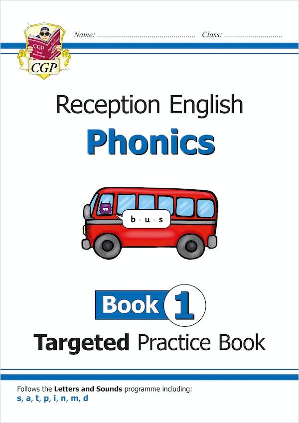 Reception Phonics Workbook (Book 1)