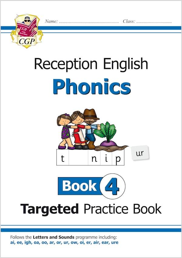 Reception Phonics Workbook (Book 4)