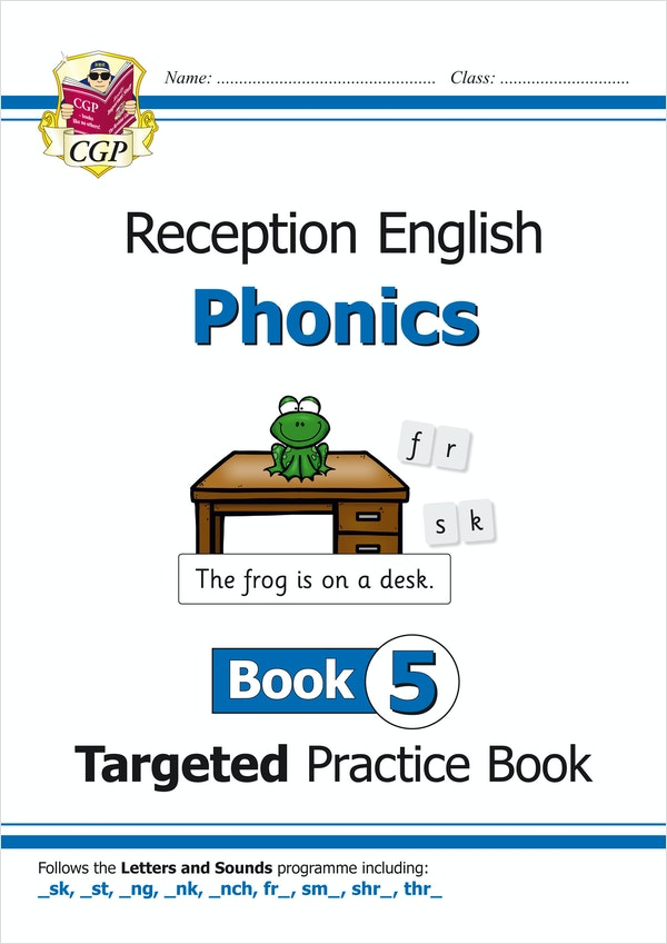 Reception Phonics Workbook (Book 5)