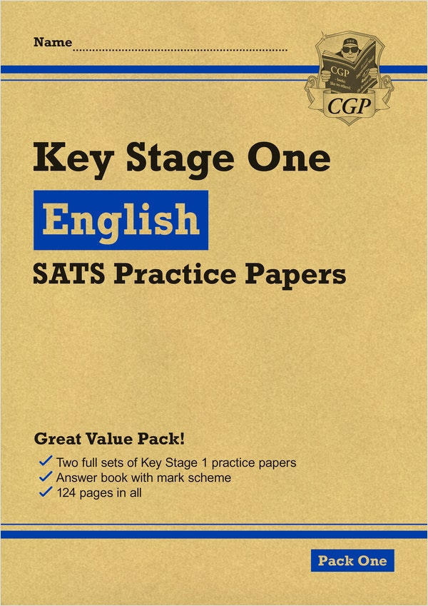 KS1 English SATs Practice Papers (Pack 1)