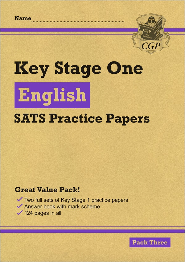 KS1 English SATs Practice Papers (Pack 3)