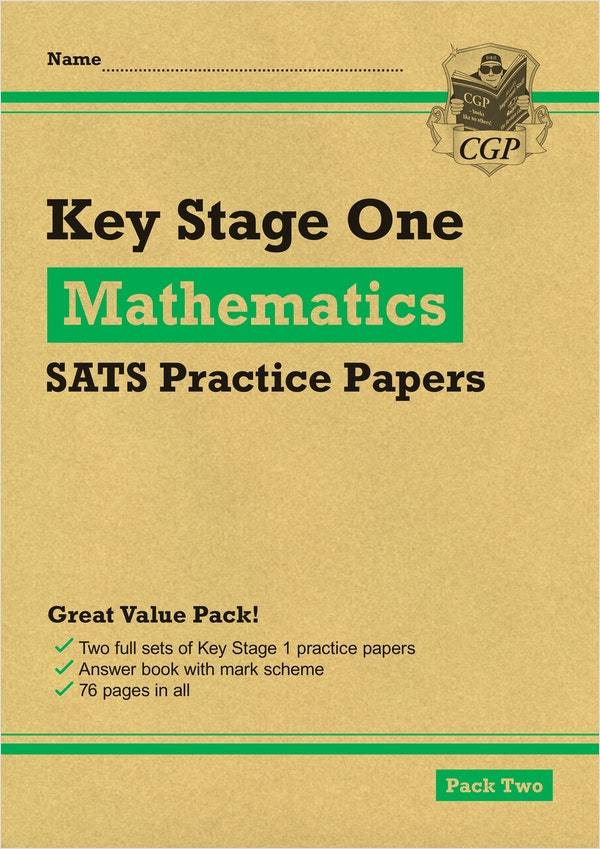 KS1 Maths SATs Practice Papers (Pack 2)