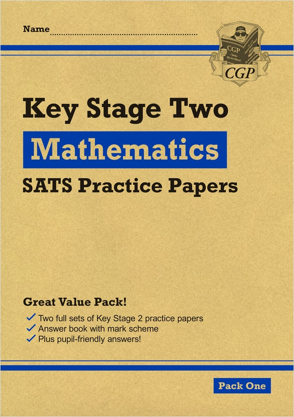 KS2 Maths Practice Papers (Pack 1)