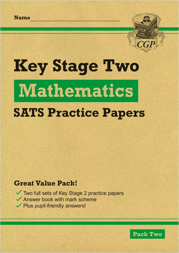 KS2 Maths Practice Papers (Pack 2)