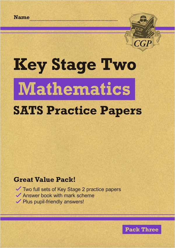KS2 Maths Practice Papers (Pack 3)