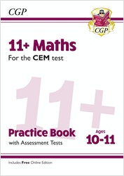 CEM 11+ Maths Practice Book (Ages 10-11)