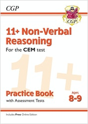 CEM 11+ Non-Verbal Reasoning Practice Book (Ages 8-9)
