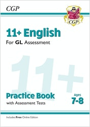 GL Assessment 11+ English Practice Book (Ages 7-8)