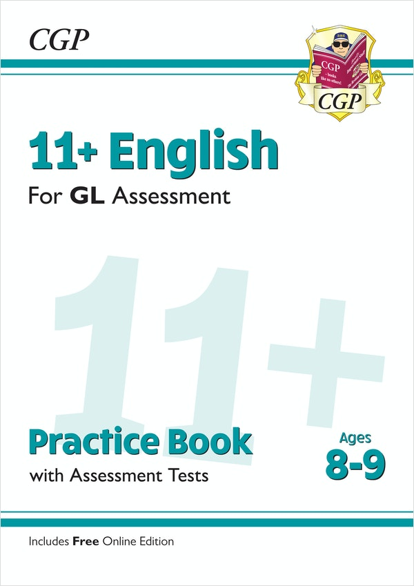 GL Assessment 11+ English Practice Book (Ages 8-9)