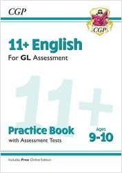 GL Assessment 11+ English Practice Book (Ages 9-10)