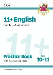 GL Assessment 11+ English Practice Book (Ages 10-11)
