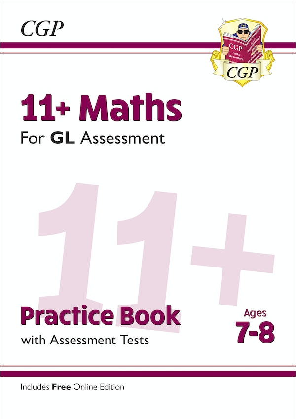 GL Assessment 11+ Maths Practice Book (Ages 7-8)