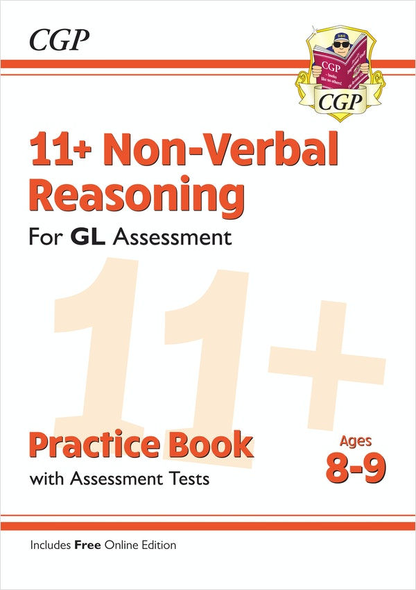 GL Assessment 11+ Non-Verbal Reasoning Practice Book (Ages 8-9)