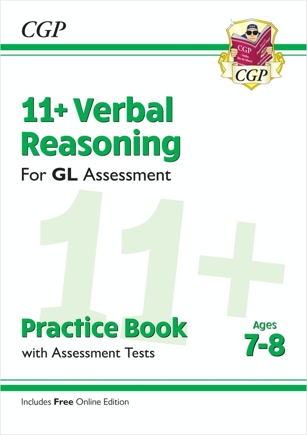GL Assessment 11+ Verbal Reasoning Practice Book (Ages 7-8)