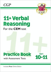 CEM 11+ Verbal Reasoning Practice Book (Ages 10-11)