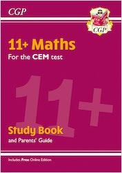 CEM 11+ Maths Study Book (& Parents Guide)