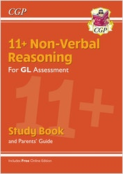11+ Non-Verbal Reasoning Study Book (& Parents Guide)