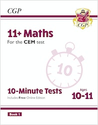 CEM 11+ Maths 10 Minute Tests
