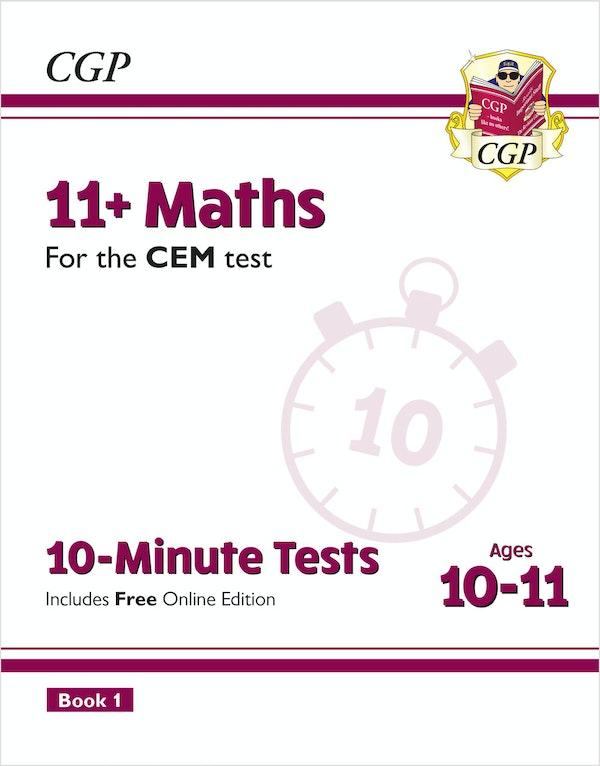 CEM 11+ Maths 10 Minute Tests