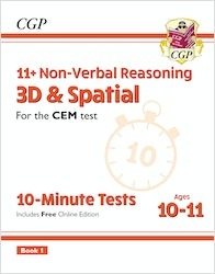 CEM 11+ 3D & Spacial 10-Minute Tests (Ages 10-11)