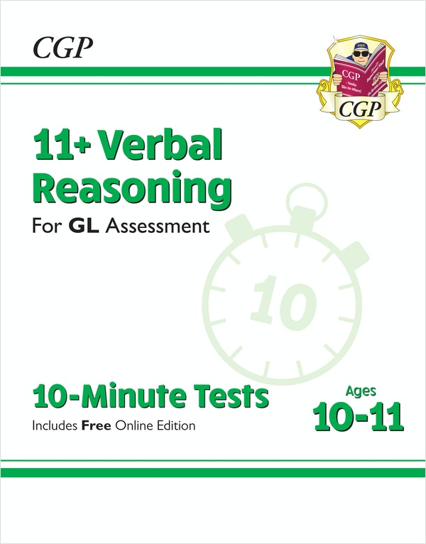 GL Assessment 11+ Verbal Reasoning 10 Minute Tests (Ages 10-11)