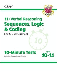 GL Assessment 11+ Sequences Logic & Coding (Ages 10-11)