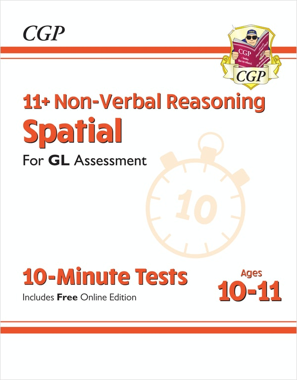 GL Assessment 11+ Spatial 10-Minute Tests (Ages 10-11)