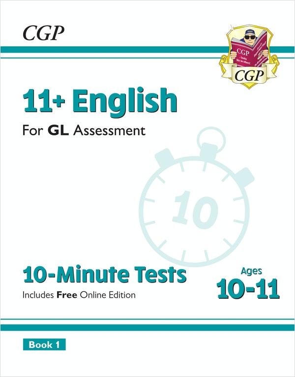 GL Assessment 11+ English 10-Minute Tests (Ages 10-11)