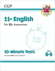 GL Assessment 11+ English 10-Minute Tests (Ages 8-9)