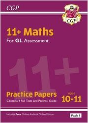 GL Assessment 11+ Maths Practice Papers (Multiple Choice)