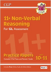GL Assessment 11+ Non-Verbal Reasoning Practice Papers (Multiple Choice)