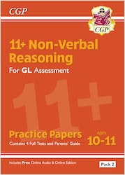 GL Assessment 11+ Non-Verbal Reasoning Practice Papers (Pack 2)